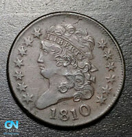 1810 Classic Head Half Cent --  MAKE US AN OFFER! #B3611