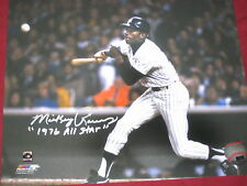 YANKEE LEGEND MICKEY RIVERS AUTOGRAPH 8X10 PHOTO INSCRIBED 1976 ALL STAR W/COA