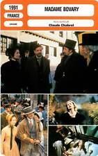 FICHE CINEMA : MADAME BOVARY - Huppert,Balmer,Malavoy,Belvaux,Chabrol 1991