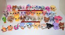 Lot of 5 Random Select Littlest Pet Shop Cat Dog Bird Rabbit Hamster Figure