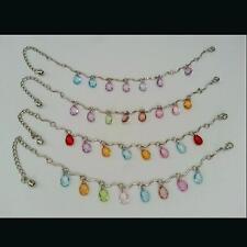 Bollywood Fußkette Fußkettchen Fusskettchen Fußschmuck Fusskette Anklet Perlen