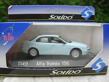 SOLIDO 1/43 METAL ALFA ROMEO 156  bleue pale 1549!!!!!!