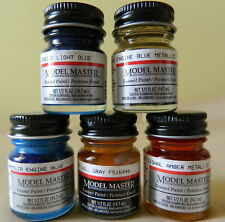 Testors Model Master .5 oz Jars  Federal Standard Enamel Paints Ships Free in US
