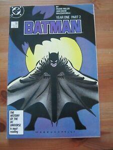 Batman #405 MAR 1987 DC Comics Year One - Pt. 2 - Frank Miller              ZCO1