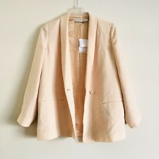 & other stories blazer Color soft peach Size: US 12