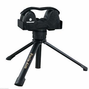 Vanguard Porta-AIm Portable Hunting Gun Support 360 Swivel Collapsible Brand New