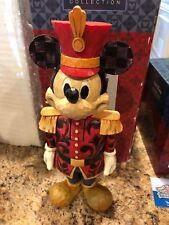 Disney Jim Shore Salutations Mickey Mouse Nutcracker NRFB Retired RARE 4027918