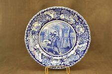 Antique Historic Ride of Paul Revere Plate Dark Blue   ND3104