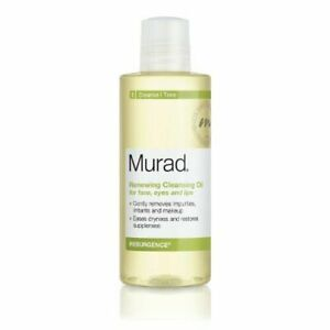 Murad Renewing Cleansing Oil for Face Eyes & Lips 6 oz new in box