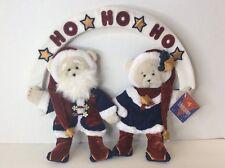 Dakin Celebrations Christmas Wall Hanger Hanging Bears Decor Decoration Ho Ho Ho