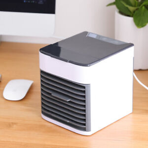 Portable Air Conditioner Mini Cooler Cooling Fan Humidifier Evaporative Cool LED