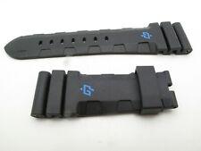 Panerai BLACK rubber strap FACTORY OEM REGULAR size 26mm/22mm 125/75mm 47mm PAM