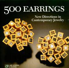 500 Contemporary Custom Designer Earrings Gold Silver Gems Pearl Lapis Jewelry