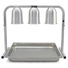 Riscalda Cibo con 3 Lampade per Cucine Commerciali, Mense, Ristoranti e Catering