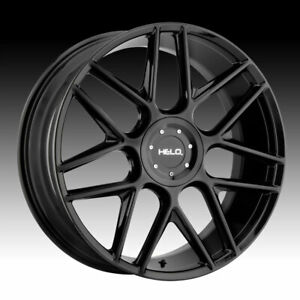 Helo HE912 Gloss Black 17x7.5 5x110 / 5x115 38mm (HE91277521338)