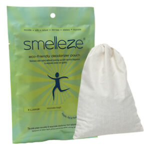 SMELLEZE Reusable Cat Smell Removal Deodorizer Pouch: Remove Odor in 300 Sq. Ft.