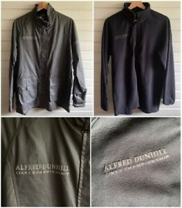 Alfred Dunhill Links Championship Golf Waxed Jacket & Fleece UK Mens Size Small