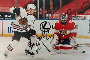 PHILIPP KURASHEV 1 Blackhawks Schweiz NHL Foto 20x30 signiert Autogramm signed