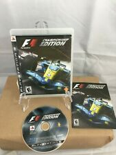 New listing PS3 F1 Formula 1 Championship Edition - Complete w/Manual Ships Fast