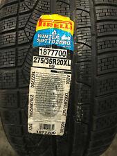 4 New 275 35 20 Pirelli Winter 240 Sotto Zero Serie II Snow Tires