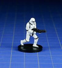 Star Wars miniatures mini Stormtrooper #38 Rebel Storm & card