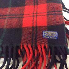 Vintage 100% Wool Pendleton Lap Throw Stadium Blanket 48 X 72 NICE