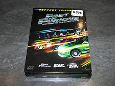 COFFRET 4 DVD FAST FURIOUS TRILOGIE 1/2/3 ULTIMATE COLLECTION UNIVERSAL OCCASION