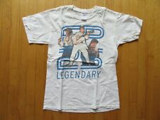 10P/#2/VINTAGE ELVIS PRESLEY T SHIRT/LEGENDARY/2001//MEDIUM/WHITE!