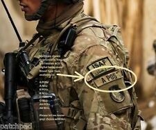 SYRIA IRAQ OP INHERENT RESOLVE GREEN BERETS ∨⋿∟⊂®⚙ MultiCam BLOOD TAPE AB NEG X2
