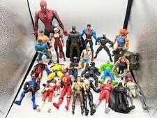 Marvel DC Universe Power Rangers Xmen Figure Parts Custom Fodder Lot
