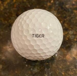 Tiger Woods Tournament Issued/personal Golf Ball (Used/Worn) NIke 11x14 pic/mat