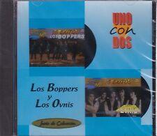 Los Boppers y Los Ovnis Uno con Dos CD New Nuevo Sealed