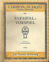 """"""" Parsifal-Vorspiel """" Richard Wagner , alte Noten übergroß"""