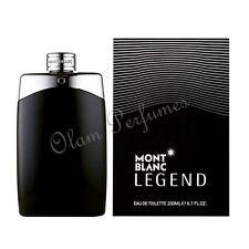 Mont Blanc Legend For Men Edt Spray 6.7oz 200ml * New in Box * Free Sample *