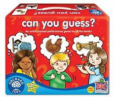 puedes Guess ? Orchard Toys Juego Educativo Preescolar Aprendizaje Divertido