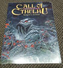 Call of Cthulhu - Keeper's Screen & Mini Adventure Chaosium #2387 - New