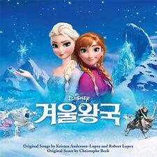 O.S.T - Frozen  Audio CD Korean Edition Korean dubbing version