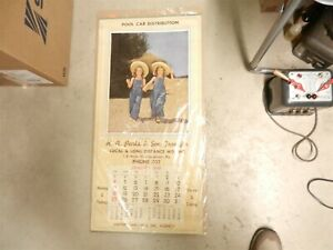 Parks & Sons Transfer Moving 1948 12 Month Ad CALENDAR Uniontown PA Rustan T