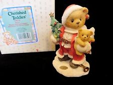 Cherished Teddies Christmas Santa - Klaus