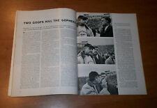 1962 Sports Illustrated MINNESOTA GOPHERS Murray Warmath  vs WISCONSIN BADGERS
