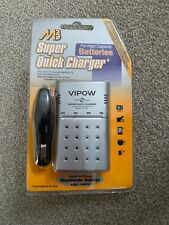Brand New Super Quick Battery Charger AA & AAA Rechargeable Batteries