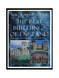 Nikolaus Pevsner, The Best Buildings of England Hardback Book The Cheap Fast