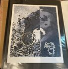 Bask - Desire To Stay Positive Side-B Handfinished Print Fairey, obey, faile,