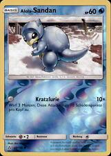 Pokemon - 28/156 Alola-Sandan - Reverse Holo - Ultra-Prisma