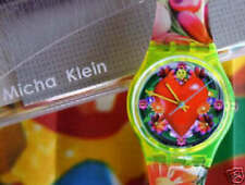 LOVE, PEACE AND HAPPINESS! Colorful Swatch ART WORK By MICHA KLEIN! NIB-RARE!