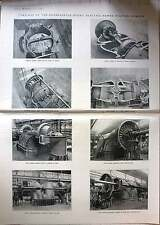 1924 Turbines At The Raanaasfoss Hydroelectric Power Station Norway