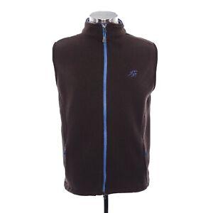Peter Millar Warmth Element 4 Mens Sz M Brown Full Zip Vest