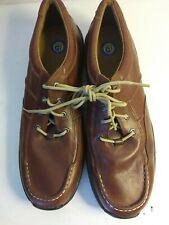 Dunham Shoes Men's Size 13 B Brown Lace Up