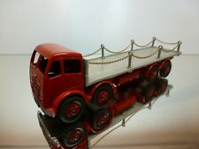 DINKY TOYS 505 905 FODEN TRUCK FLAT BED + CHAINS - 1:50? - GOOD CONDITION CODE 3