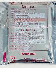 Toshiba HDWL120XZSTA L200 2TB Laptop PC SATA Hard Drive 5400 RPM SATA 6Gb/s